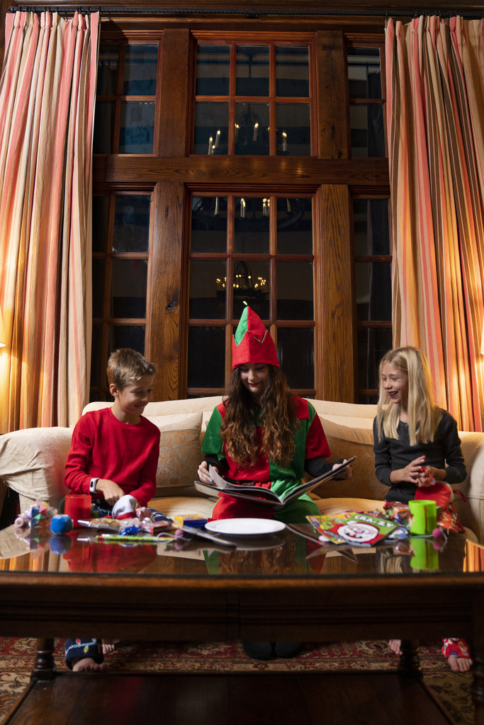 Guests at Old Edwards Inn & Spa during the holidays can opt for an Elf Tuck-in, whereby a jingle bell-clad elf comes to your room with cookies and milk and reads a Christmas bedtime story to your little ones.