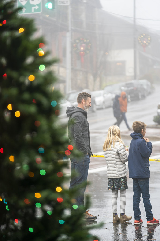 Highlands goes all out for Christmas, with street decorations and a holiday parade (happening this year on December 7).
