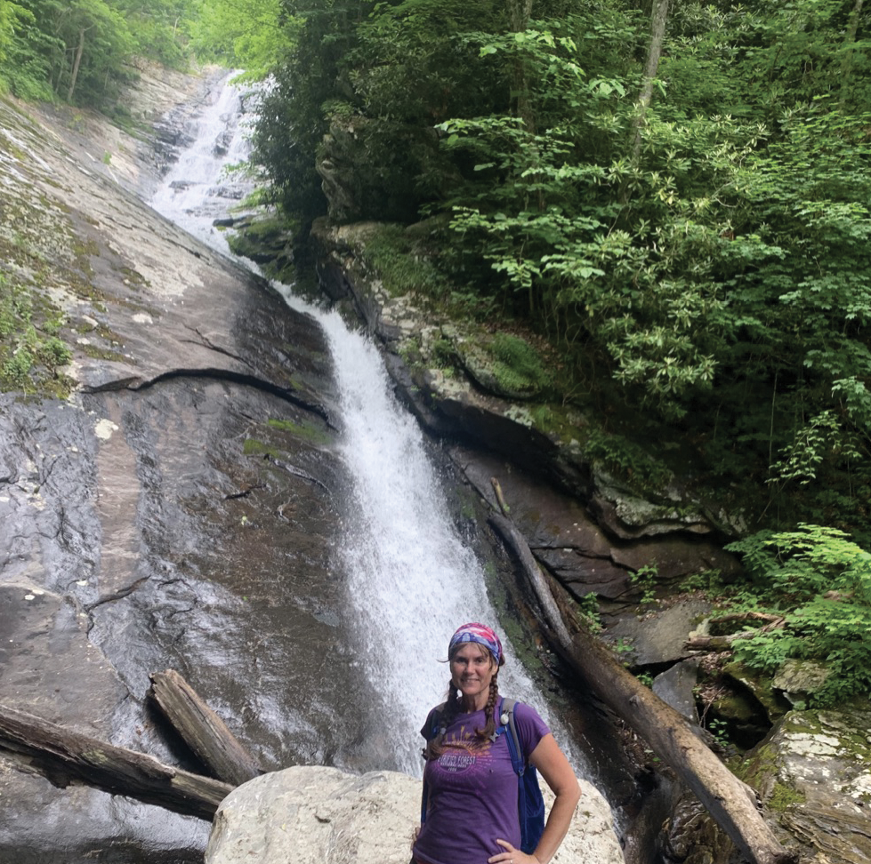 Water Lover - The group's cofounder and associate director, Holly Bass, is a math teacher by profession who says her other real passion is waterfalls.