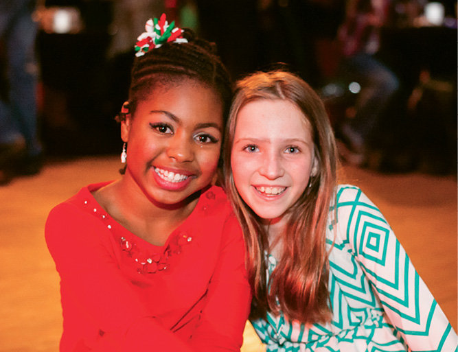 Kennedy Green and Katie Purnell
