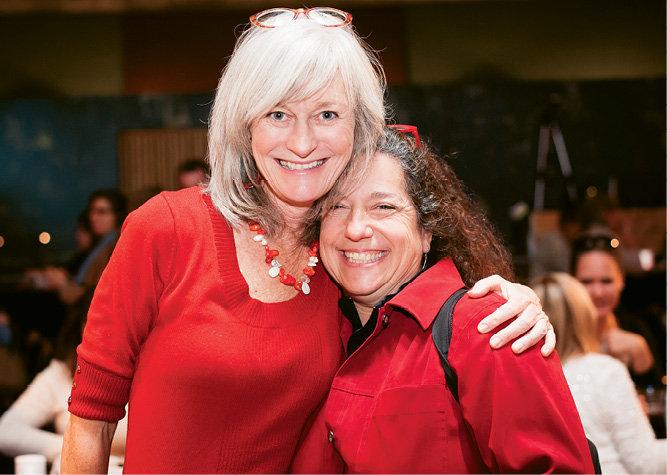 Kari Sickenberger and Town and Mountain realtor Lorraine Silverman