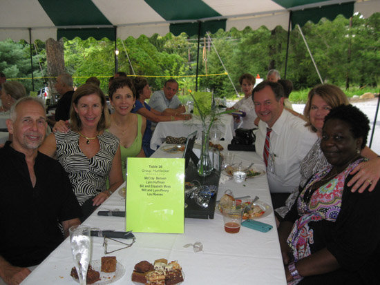 Ed Oster, Lou Reeves, Lynn Huffman, McCray Benson, Elizabeth Wilkes Moss, and Sharon Stokes