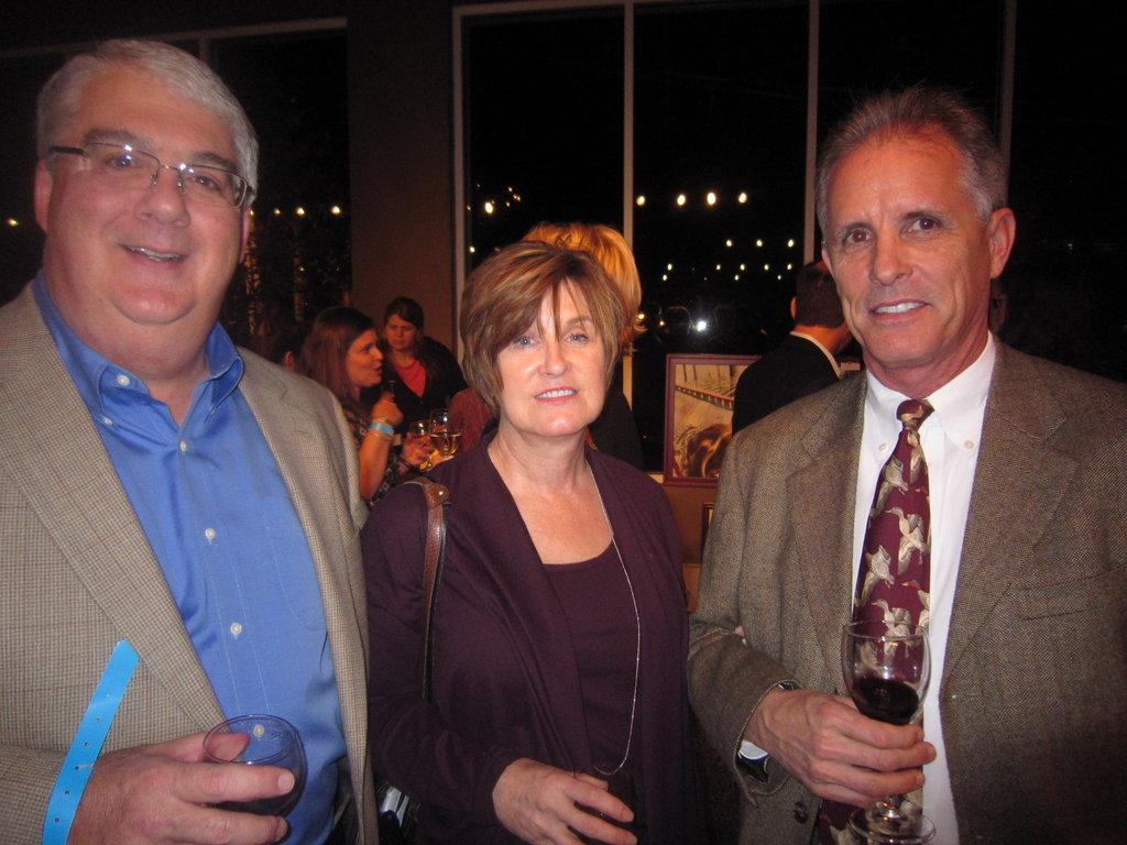 Bill McMartin, Deborah Bernier, and Mike Davis