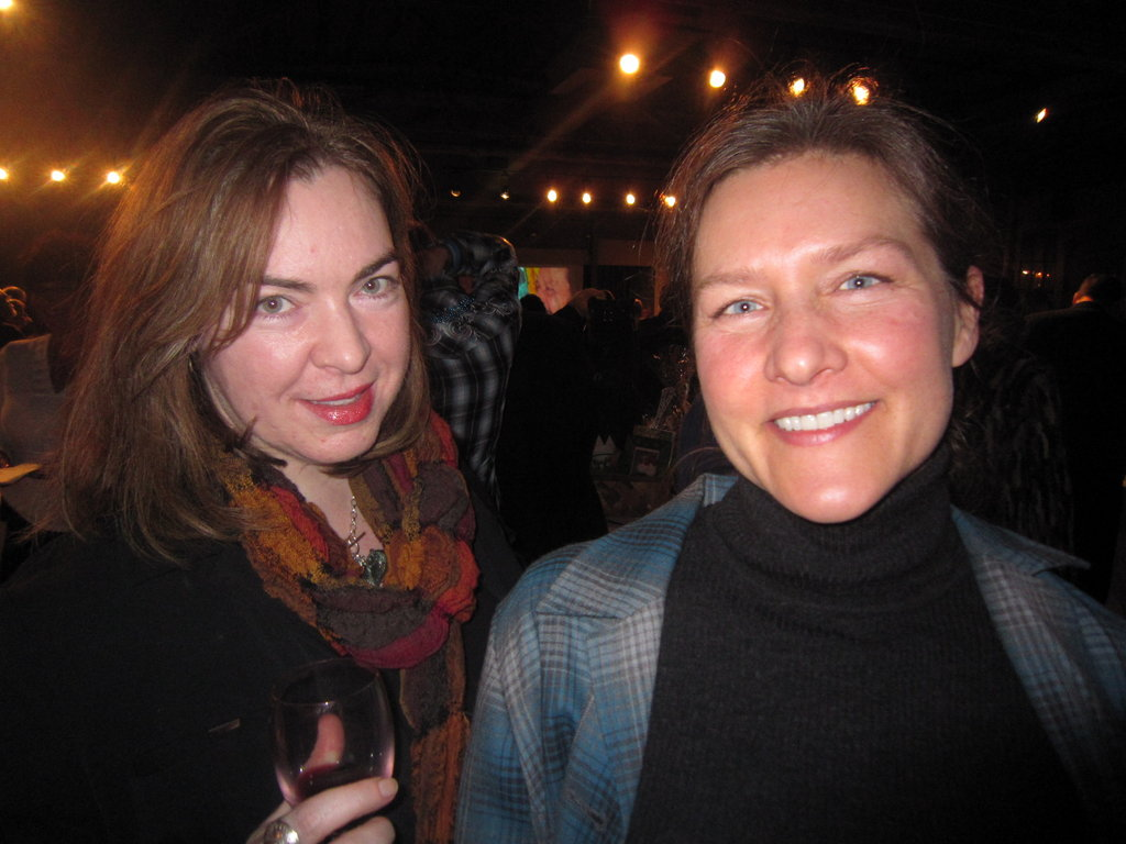 WNC Magazine's Constance Williams with Mary Morrell