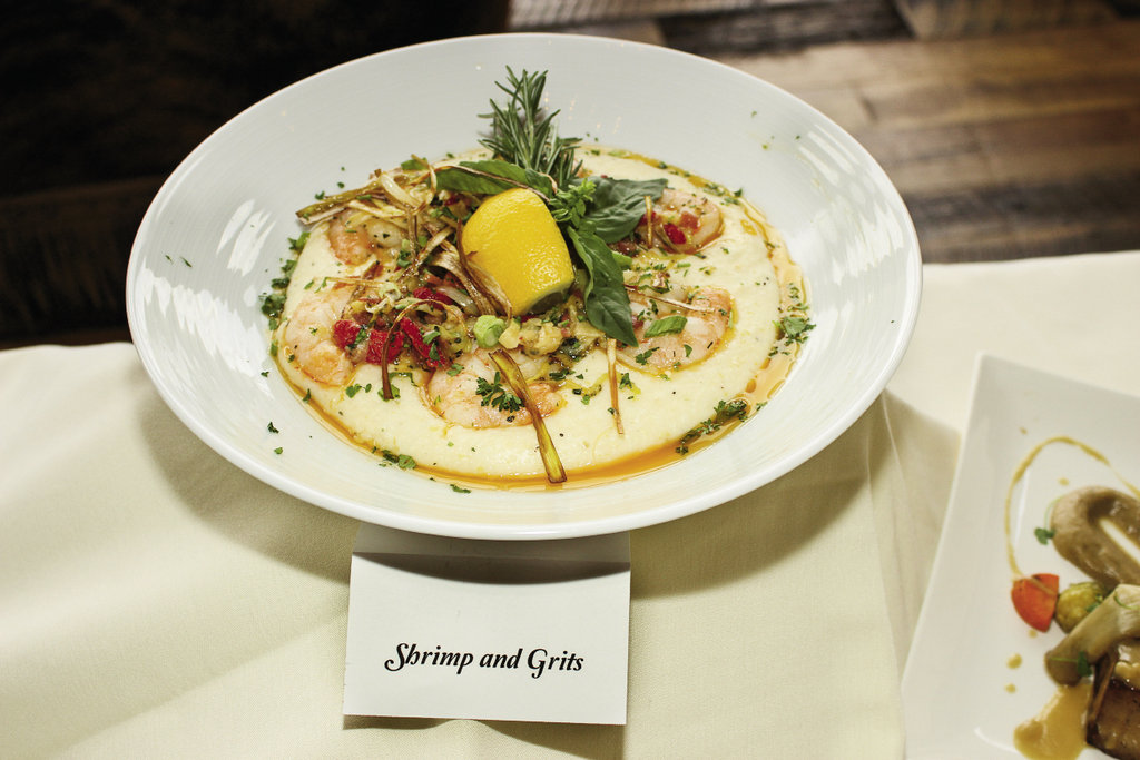 Laurel Ridge Country Club's shrimp and grits took second place in the seafood category.