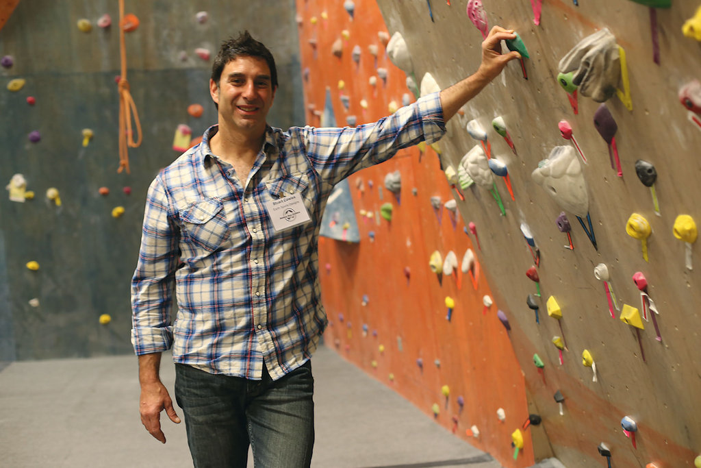 Stuart Cowles, president and founder of ClimbMax and Smoky Mountain Adventure Center