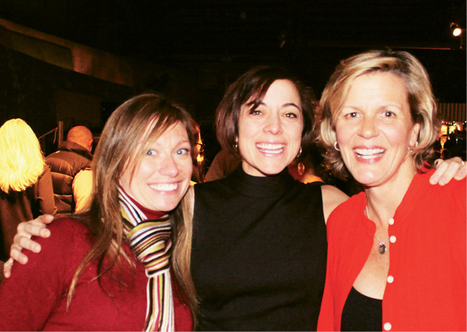 Jessi Douglass, Eva Hartman, and Jody Cole