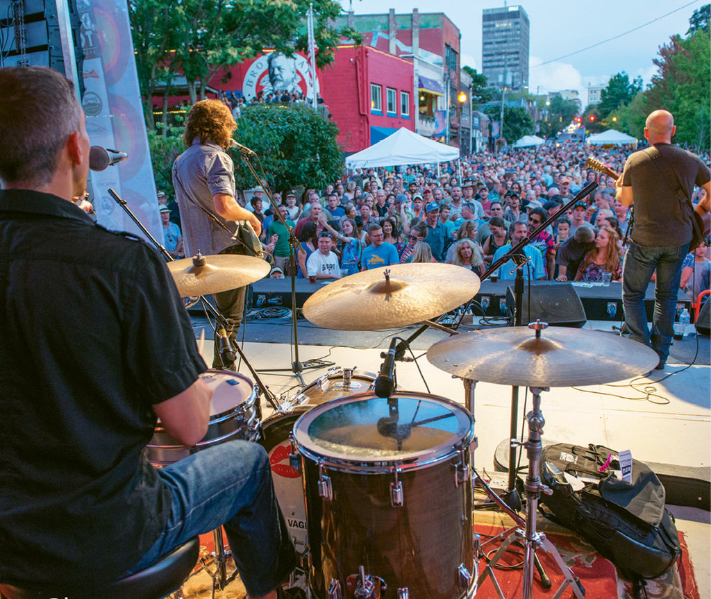 10. Lexington Avenue comes alive at the Downtown After 5 concert series