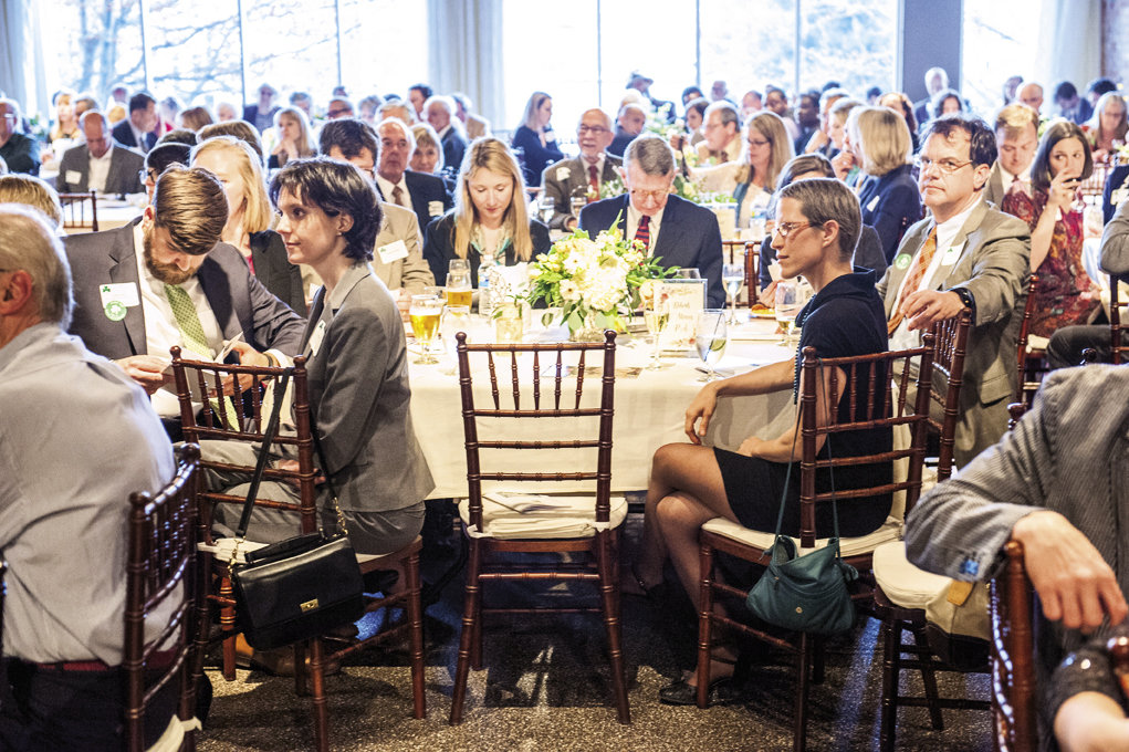 Around 300 guests attended the event, which was held at The Venue in Asheville.