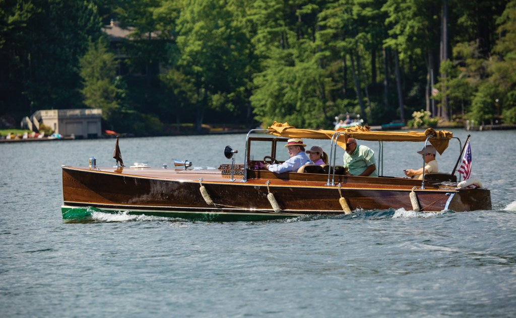 "The ""Alleghenia"" is a unique—and quite valuable—24-foot Ditchburn built in 1924 by Ditchburn Pleasure Boats Ltd., which operated from 1871 to 1938 in Ontario, Canada."