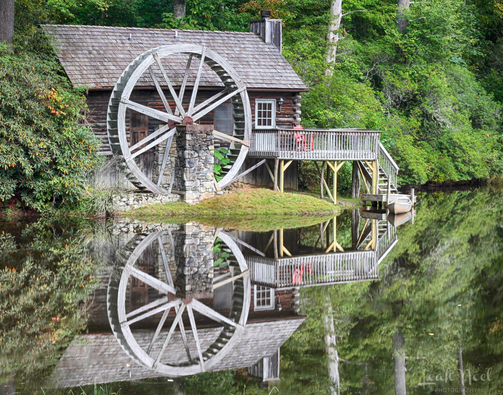 HONORABLE MENTION - MIRROR IMAGE - Leah Miller - The honeymoon cottage at High Hampton Inn in Cashiers. Amateur category