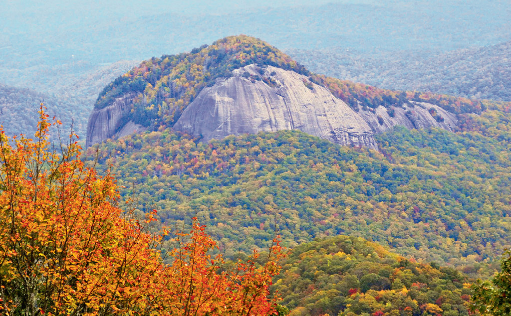Rock Steady: Rising nearly 4,000 feet in elevation, Looking Glass Rock is one of the Southeast's most iconic climbing landmarks.
