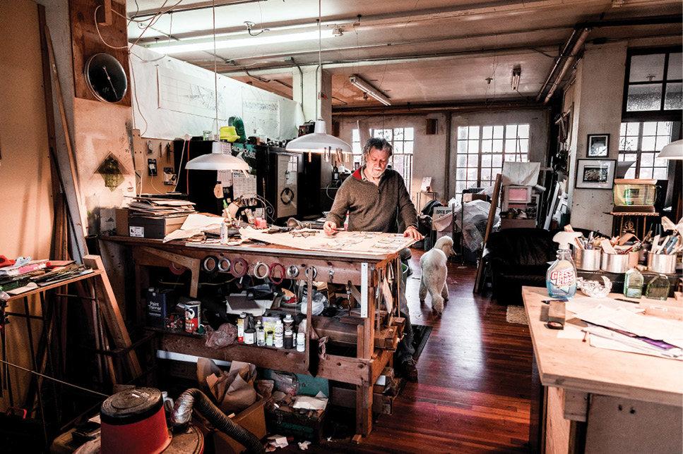 On site are nine artist studios.