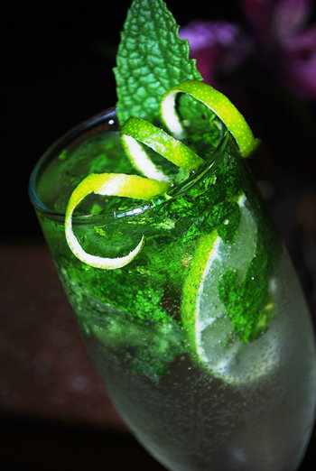 3rd Place: Chef Mo's Mini Mojito by Bryan Roemer