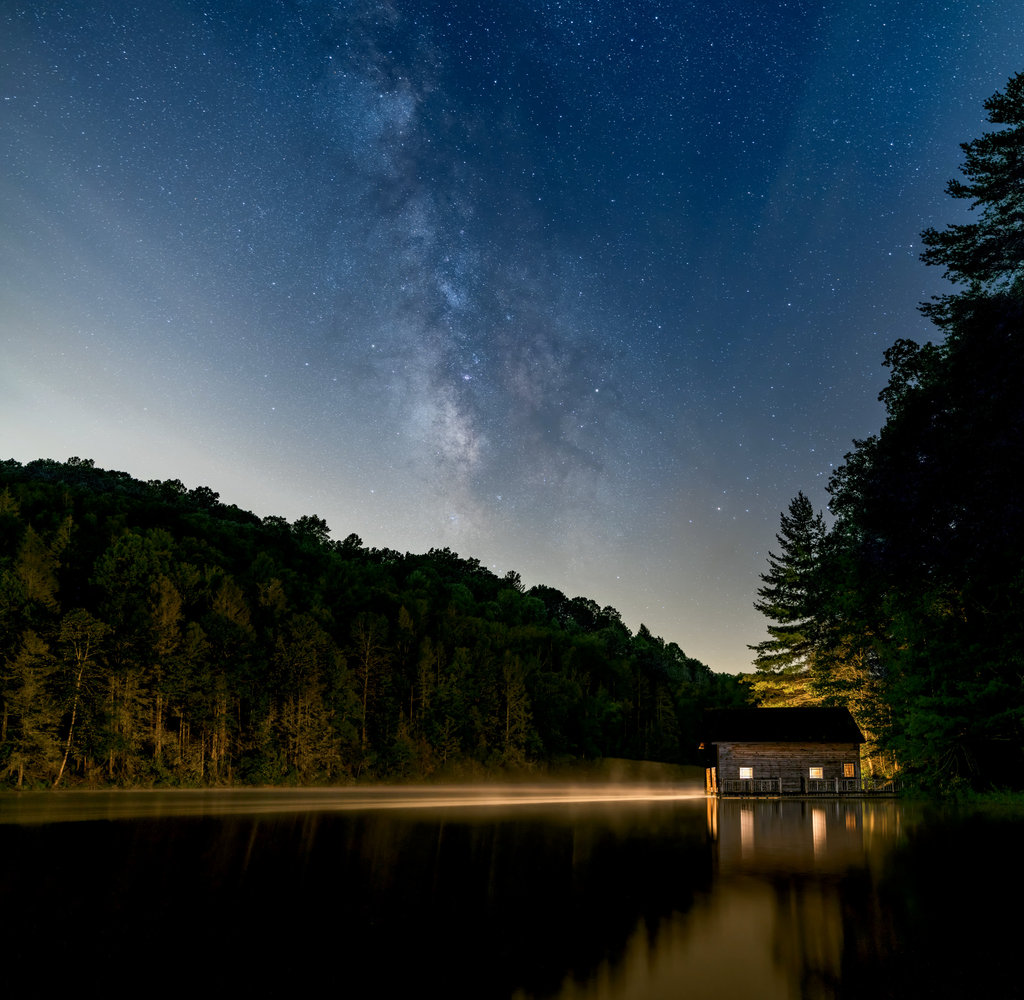 1st PLACE  PROFESSIONAL CATEGORY  - Night Boating by Tom Moors (Professional Category)