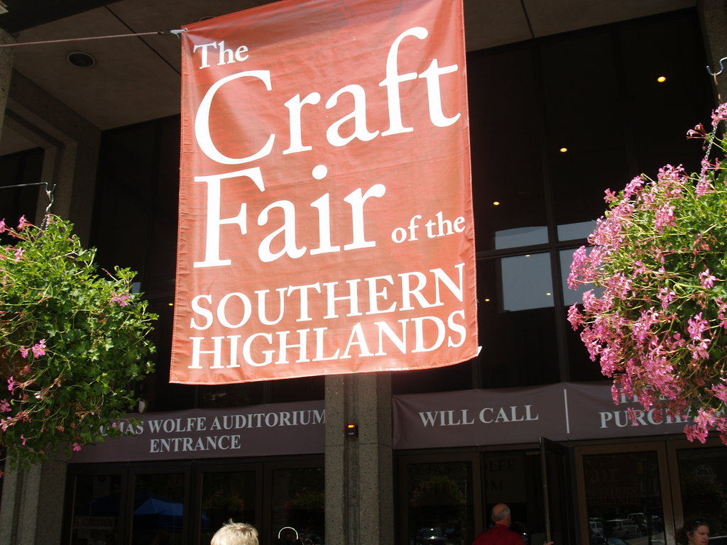 The Craft Fair consumed the Civic Center this weekend