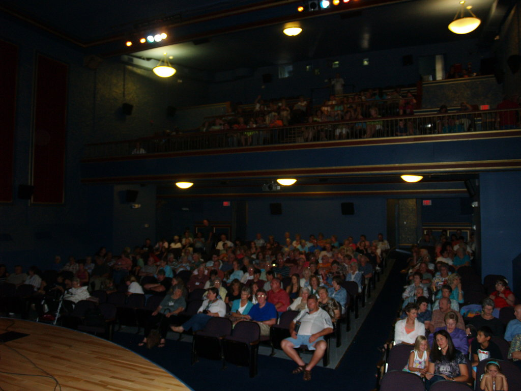 A packed house at the Colonial Theatre