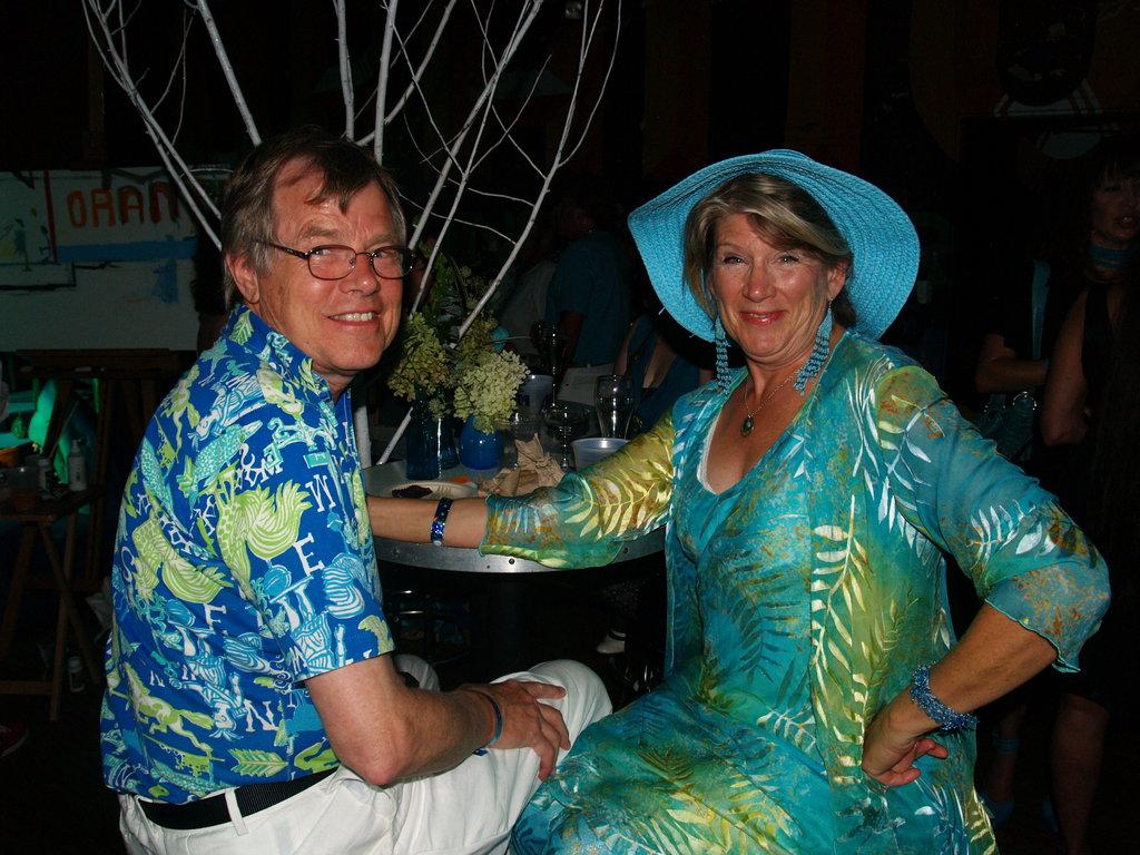 Jane and Frank Hallstrom
