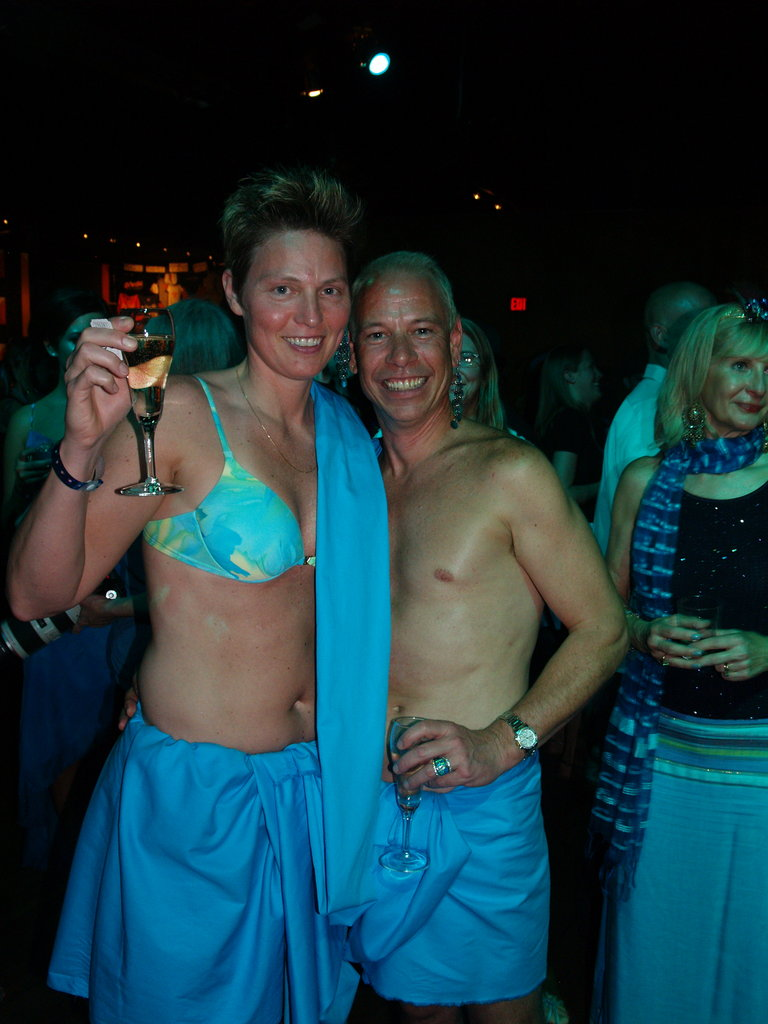 Scott Schaeffer and Sue Riles