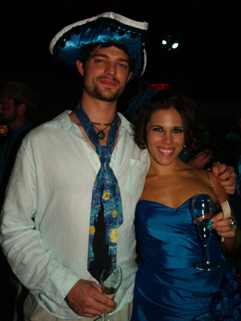 Aaron Watkins and Andrea McClure