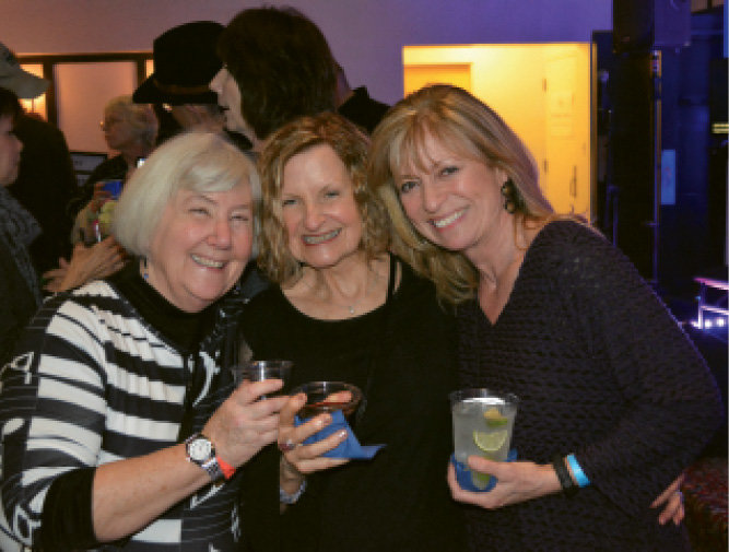 Pam McNeil, Pat Strother, and Monica Jones