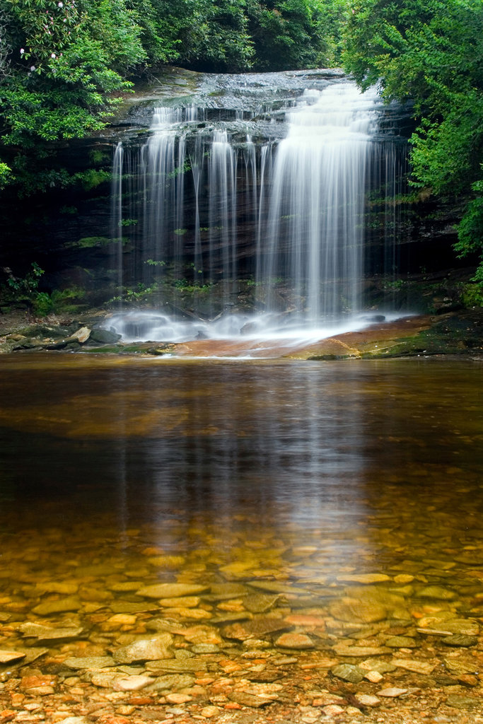 Honorable Mention: Schoolhouse Falls by Nick Breedlove (Amateur category)