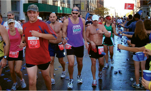 Chicago Marathon, Illinois: Between 2008 and 2012, Ripmaster ran 50 marathons in all 50 states (one per month) and raised more than $60,000 for cancer research. His most noted 26-miler is the Boston Marathon, which he ran in 2014, the year after the bombings at the race.