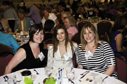 Kate Trombley, Amanda Tucker, and Audrey Kirsch of Blossoms at Biltmore Park