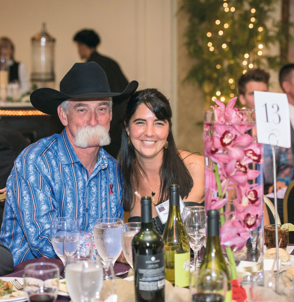 Alan and Tonia Sheppard of event sponsor Alan's Jewelry & Pawn