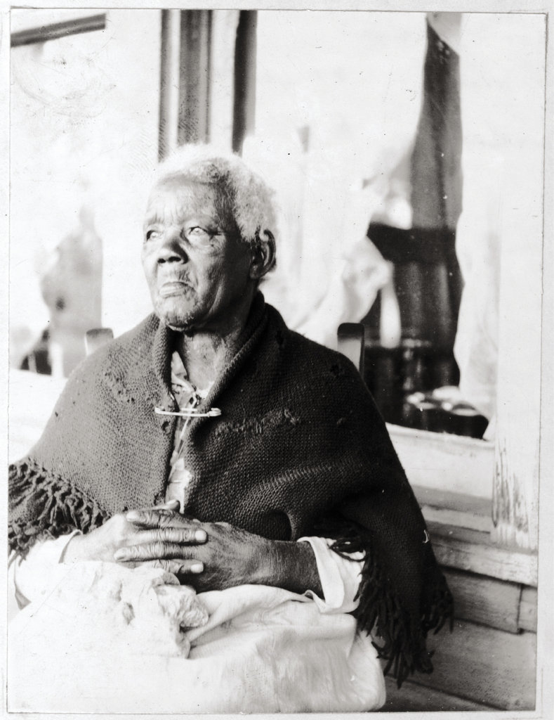 the story of Sarah Gudger, an Old Fort woman who was born into slavery, emancipated at the age of 49, and lived to be 122.