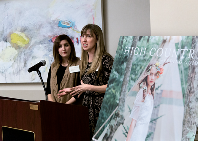 HCWG Blog Editor Andraya Northrup and Editorial Director Melissa Bigner