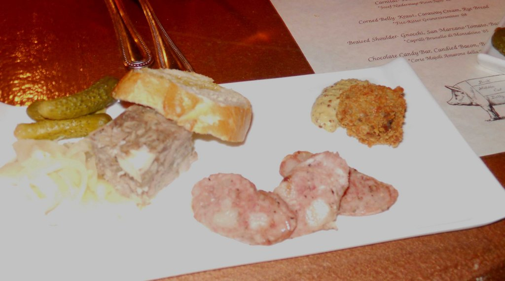 Sausages including Head Cheese