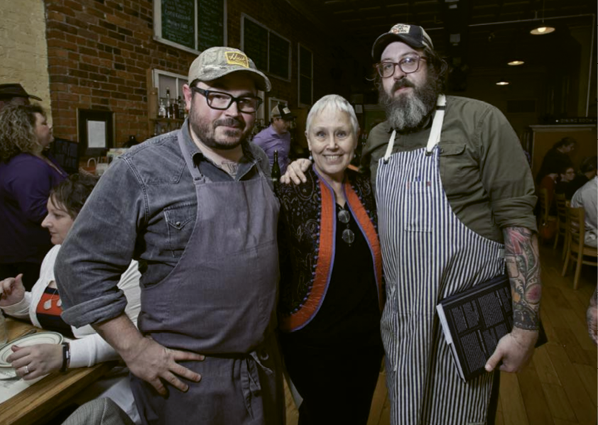 Lundy's influence extends to revered chefs, including Sean Brock and Travis Milton.