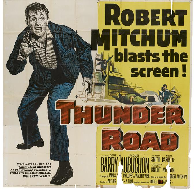 WNC-made Movies:  1. Thunder Road (1958)