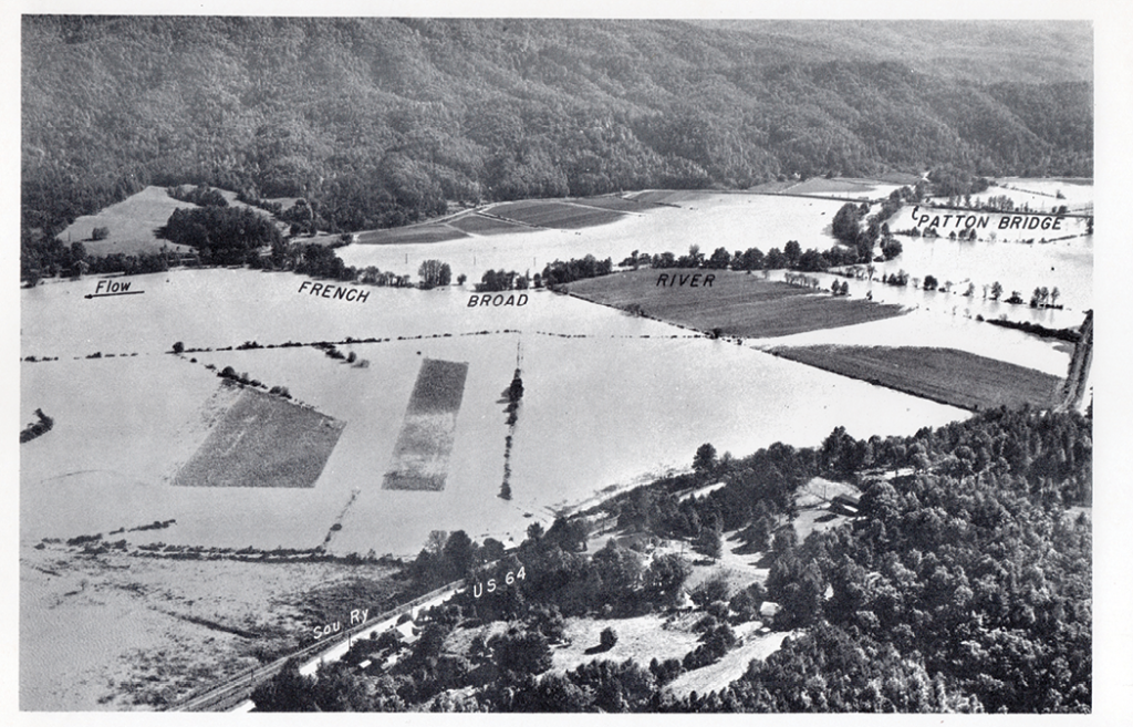 Flooding in 1964.