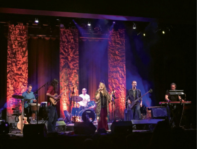 The Broadcast from Asheville was among the bands that performed.