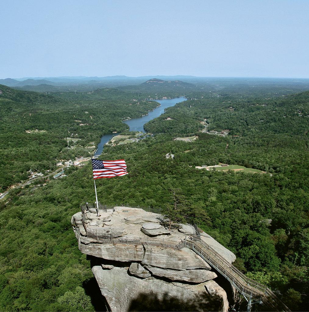 5. Chimney Rock State Park