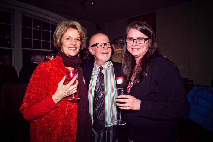 Libba and Benjamin Belton with Editor-in-Chief Rita Larkin