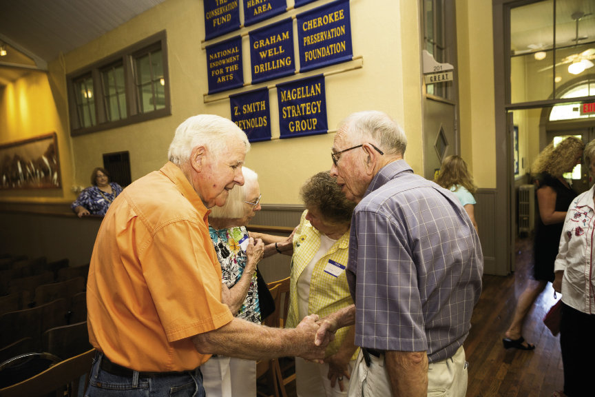 The Stecoah Union School in Robbinsville educated students for nearly 70 years. These days, the stone-clad building houses the Stecoah Valley Cultural Arts Center, which hosts a school reunion for former classmates every year in August.