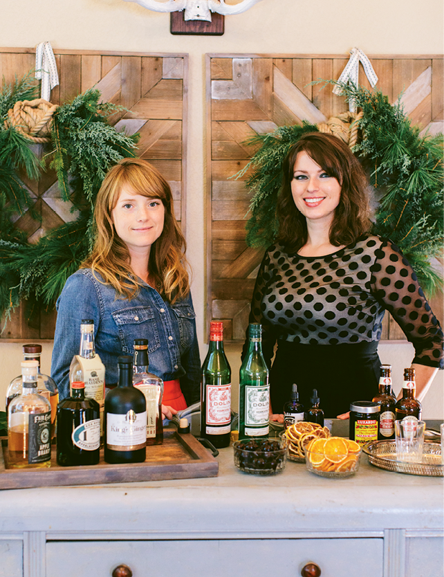 Heidi Perrone and Lexie Harvey of Cordial  & Craft.