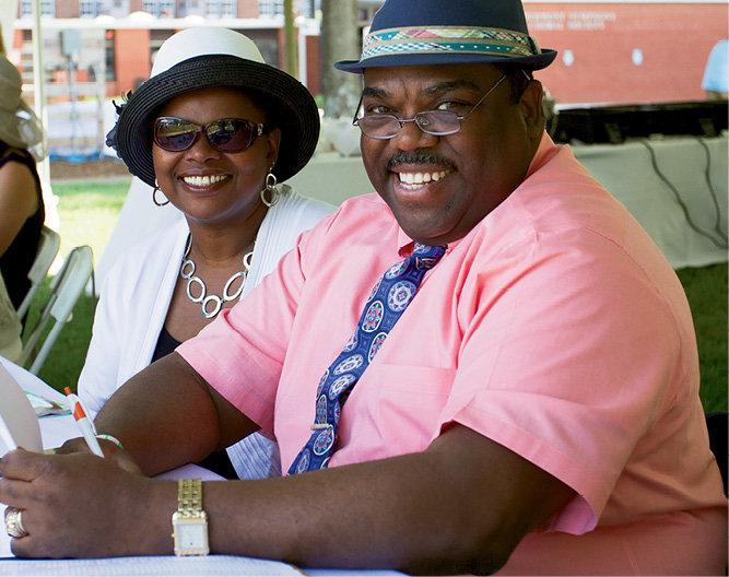 Janet and Warren Hicks