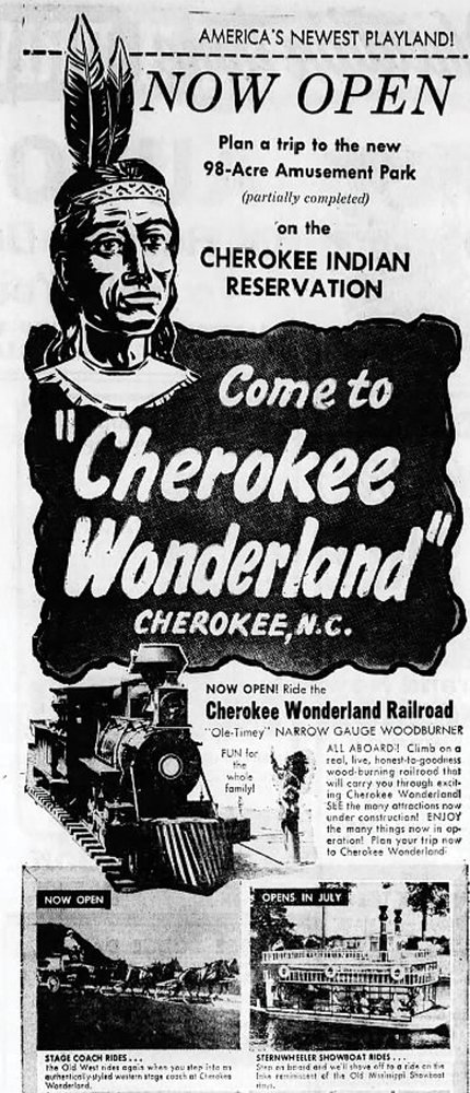 Cherokee Wonderland never reached its full potential, but these color renditions show just how grand its plans were.