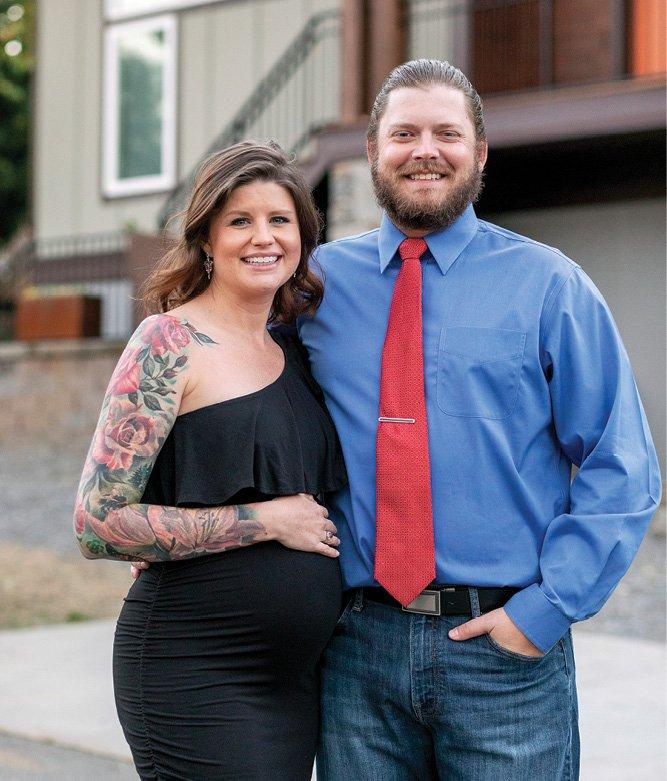 Nicole and Ryan Baker