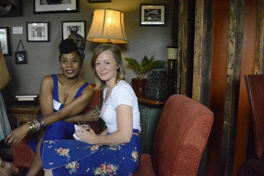 Kisha Blount and Katherin Biggs