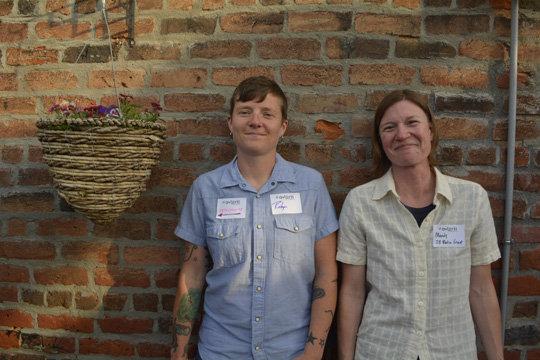 Robyn Moser and Mandy Gardener from JB Media