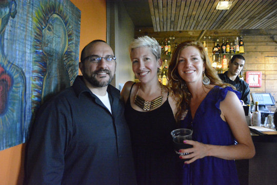 Chef Anthony Cerrato with Ayana Dusenberry and Katie Hild