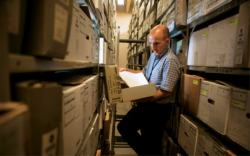 In the archives of NOAA's Center for Weather and Climate