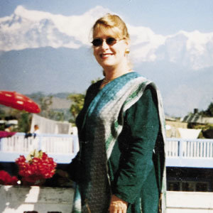 Cook in Pokhara, Nepal, in 2001.