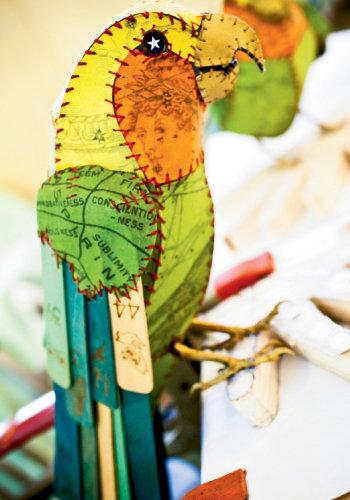 Carolina Parakeets