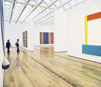 The High Museum of Art's Upper Gallery.